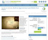 Build an Approximate Scale Model of an Object
