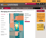 Managing the Innovation Process, Fall 2002