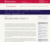 Grade 1: Reading Foundations Skills Block: Module 1
