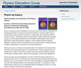 Physics by Inquiry: Volume 1