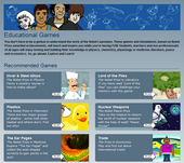 Nobel Prize Educational Games