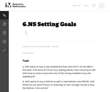 6.NS Setting Goals