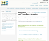 Facilitated and Team-Based Learning