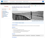 Civil War Photojournalism: A Record of War