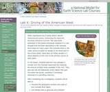 Drought (Lab 6): Drying of the American West