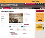 Materials Laboratory, Fall 2006