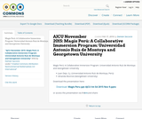 AJCU November 2015: Magis Perú: A Collaborative Immersion Program: Universidad Antonio Ruíz de Montoya and Georgetown University