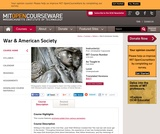 War and American Society, Fall 2002