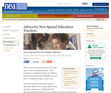 Advice for New Special Education Teachers