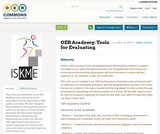 OER Academy: Tools for Evaluating