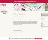 Writing Rubrics: Grade 1
