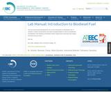 Bioenergy Lab Manual: Introduction to Biodiesel Fuel