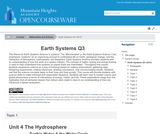 Earth Systems Q3