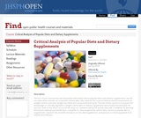 Critical Analysis of Popular Diets and Dietary Supplements