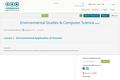 Environmental Studies & Computer Science
