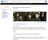 Child Labor and the Building of America