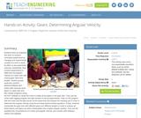 Gears: Determining Angular Velocity