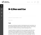 Bus and Car