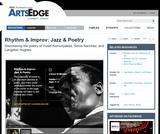 Rhythm & Improv: Jazz & Poetry