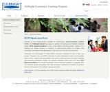 Fulbright Economics Teaching Program OpenCourseWare (FETP)