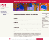 EL Education's Vision, Mission, and Approach