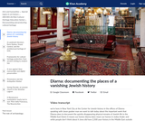 Diarna: documenting the places of a vanishing Jewish history