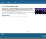 Antiheroes and Ethics