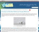Focusing in on Polar Bear Habitat Loss Through a Media Lens