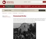 Reading Like a Historian: Homestead Strike