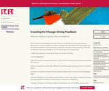 Coaching for Change: Giving Feedback