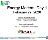 Energy Matters STEM Seminar