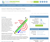 Electricity and Magnetic Fields