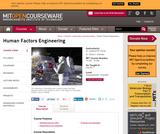 Human Factors Engineering, Fall 2011
