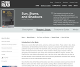 Sun, Stone, and Shadows by Jorge F. Hernández - Reader's Guide