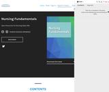 Nursing Fundamentals – Simple Book Publishing