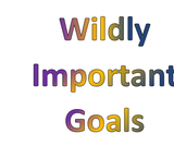 Wildly Important Goal Setting- WIG's