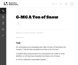 G-MG A Ton of Snow