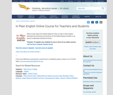 In Plain English Online Course for Teachers and Students