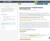 Creative Inventions - English Template, Intermediate Low