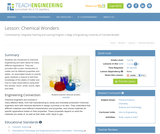 Chemical Wonders