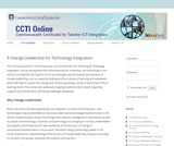 Change Leadership for Technology Integration