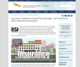 Insurance: Protecting Yourself from Damage - No-Frills Money Skills Video Series, Episode 6