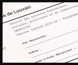 OER-UCLouvain: Cahier de l'IPM 4 : L'évaluation