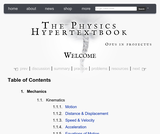 The Physics Hypertextbook