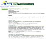 Watersheds Urban and Rural