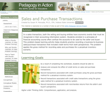 Sales and Purchase Transactions
