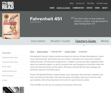 Fahrenheit 451 by Ray Bradbury - Teacher's Guide