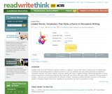 Loaded Words: Vocabulary That Packs a Punch in Persuasive Writing