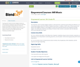 Empowered Learner: MS Music