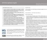 OER-UCLouvain: Arthrites septiques aiguës